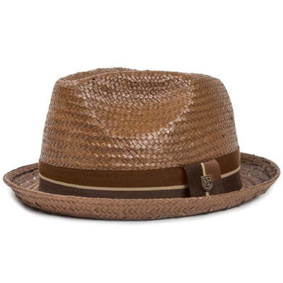 Brixton Castor Fedora Brown/Tan