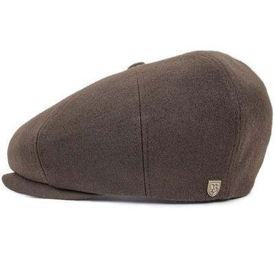 Brixton Sleet Snap Cap Brown