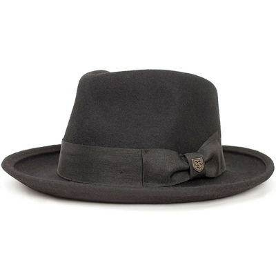 Brixton Swindle Fedora Black/Black