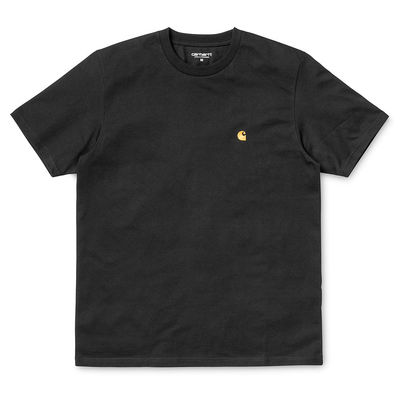 Carhartt WIP S/S Chase T-Shirt Black/Gold