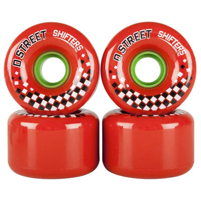 D Street Shifters Wheels 65mm red
