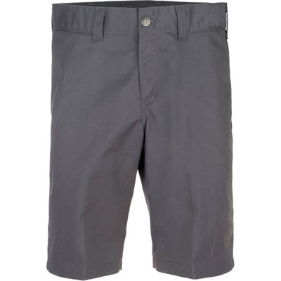 Dickies Industrial Work Shorts Slim Charcoal Grey