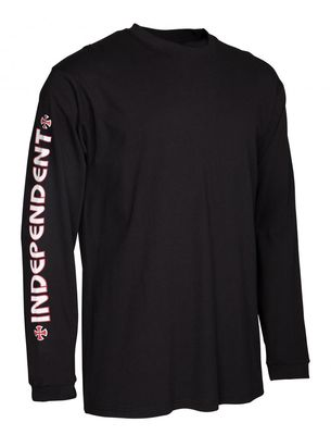Independent Longsleeve T-Shirt Bar Cross