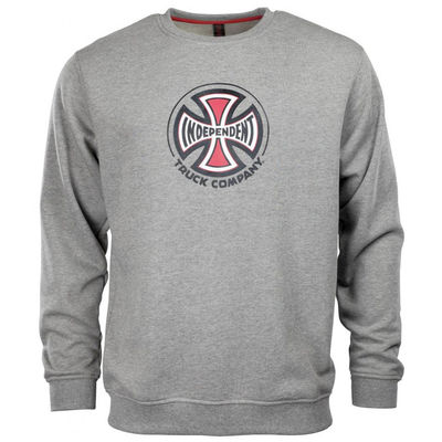 Independent Truck Co. Crew Dark Heather Grey