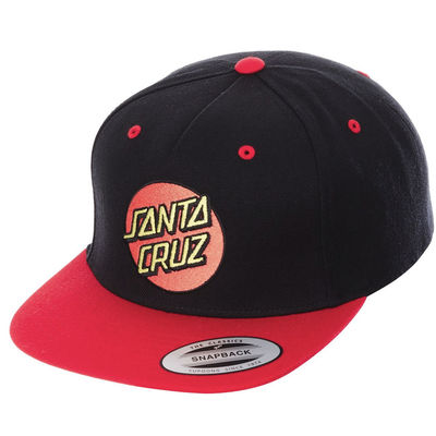 Santa Cruz Classic Cap Red/Black