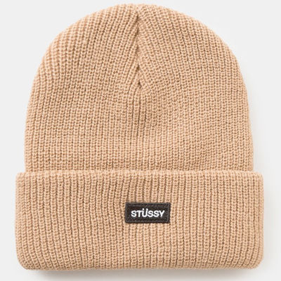 Stüssy Watch FA17 Cap Beanie Tan