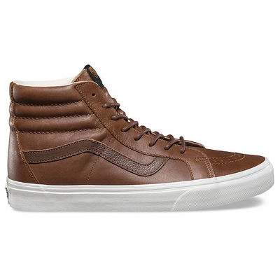 Vans Sk8-Hi Reissue (Leather) Dachshund/Potting Soil