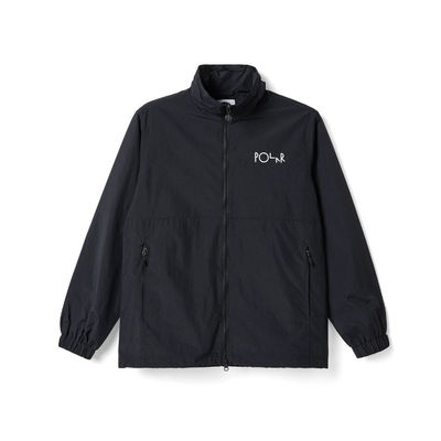 Polar Skate Co. Coach Jacket Black