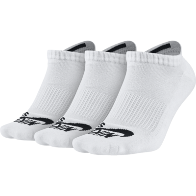 Nike SB No Show Sock White/Black 3 Pack