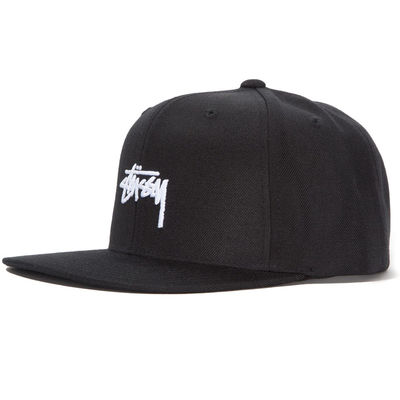 Stüssy Stock Fa18 Cap Black