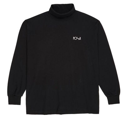 Polar Skate Co. Script Turtleneck Black