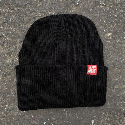Happy Hour Beanie Black/Red