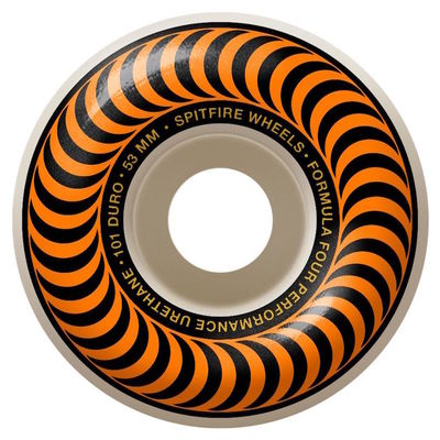 Spitfire F4 101d Classic 53mm Orange