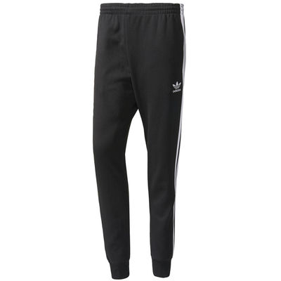 Adidas Originals SST Cuffed Track Pants Black