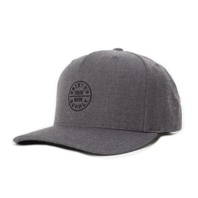 Brixton Oath 110 MP Snapback Heather Charcoal