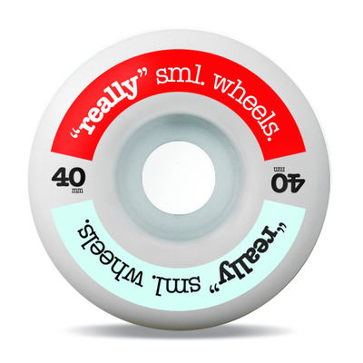 Sml. Really sml. Wheels RED/ SKY 40mm