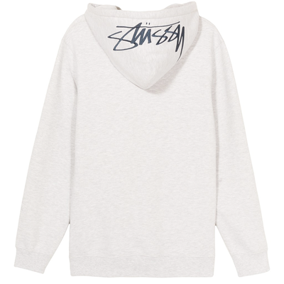 Stüssy Smooth Applique Hood Grey Heather