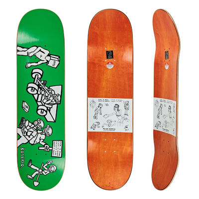 "Polar Skate Co. 8,75"" Nick Boserio Cash Is Queen Green"