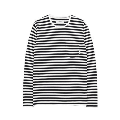 Makia Verkstad Long Sleeve Black/White