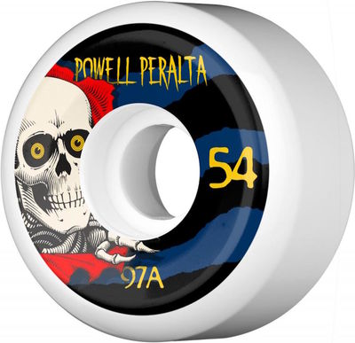 Powell Peralta Ripper III 97a 54mm White
