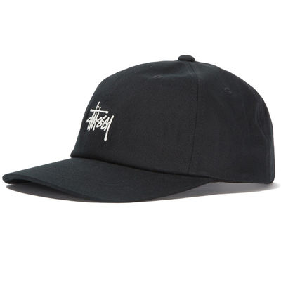 Stüssy Stock Fa18 Low Pro Cap Black