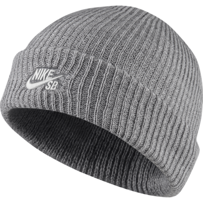 Nike SB Fisherman Cap Dark Grey Heather/ White