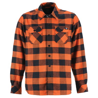 Dickies Sacramento Flannel Orange
