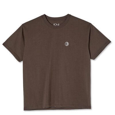 Polar Skate Co. Team Tee Brown
