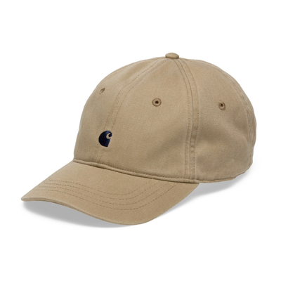 Carhartt WIP Madison Logo Cap Leather/ Navy