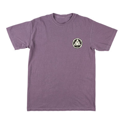 Welcome Sloth Garment-Dyed Tee Wine