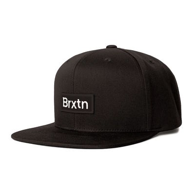 Brixton Gate III MP Snapback Black