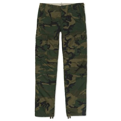 Carhartt WIP Aviation Pant Camo Combat Green