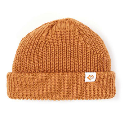 Magenta Low Beanie Orange