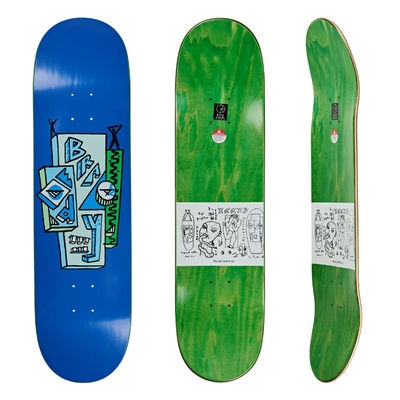 "Polar Skate Co. 8"" Dane Brady Skyscaper Blue"