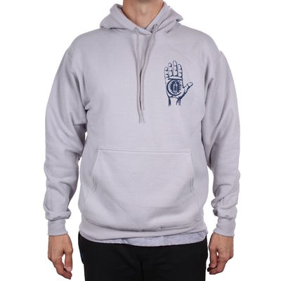 Theories Of Atlantis Rasputin Pullover Hoodie Silver