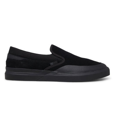DC Infinite S Slip-On Leather Black