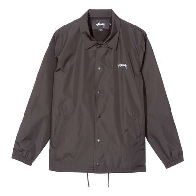 Stüssy Cruize Coach Jacket Black