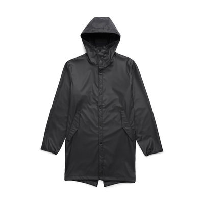 Herschel Rainwear Fishtail Parka Black