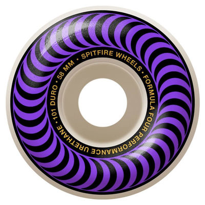 Spitfire F4 101d Classic 58mm Purple