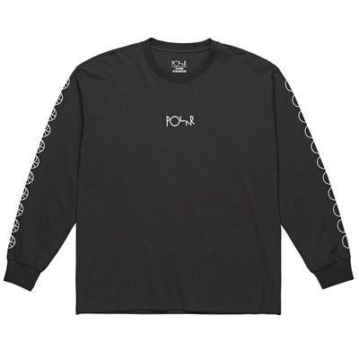 Polar Skate Co. Racing Longsleeve Black