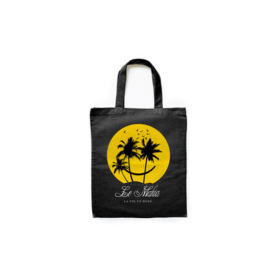 Makia Island Life Tote Bag Black