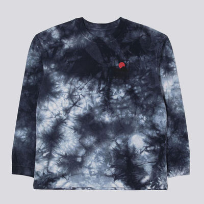 Edwin Sunset On Mt Fuji 2  LS-shirt Navy / Blazer