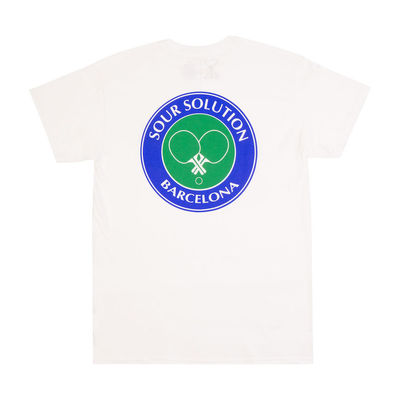 Sour Solution T-Shirt Sour Social Club White