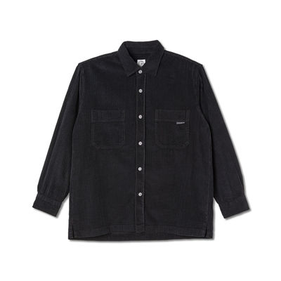 Polar Skate Co. Cord Shirt Black