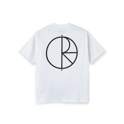 Polar Skate Co. Stroke Logo Tee White