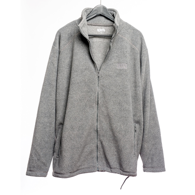 El Rio Grind Flag Fleece Jacket Grey
