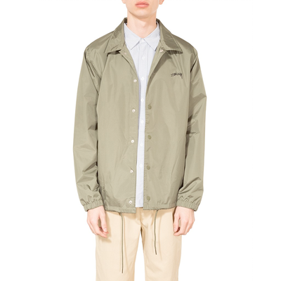 Stüssy Cruize Coach Jacket Olive