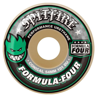 Spitfire F4 101D Conical Green Print 56mm