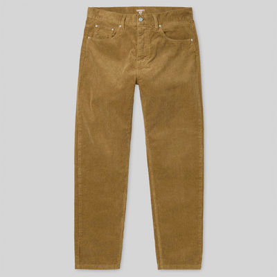 Carhartt WIP Newel Pant Hamilton Brown Howard Rinsed