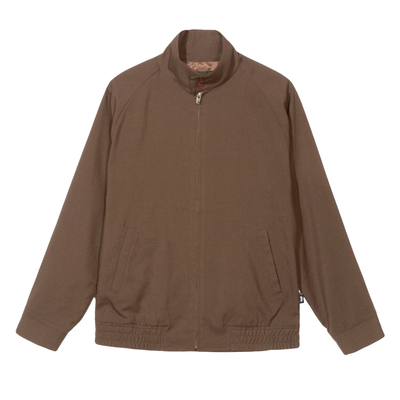 Stüssy Bryan Harrington Jacket Brown